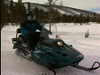Yellowstone Winter by Snowmobile